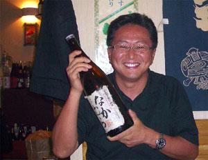 芋焼酎「なかむら」 と 中村さん
